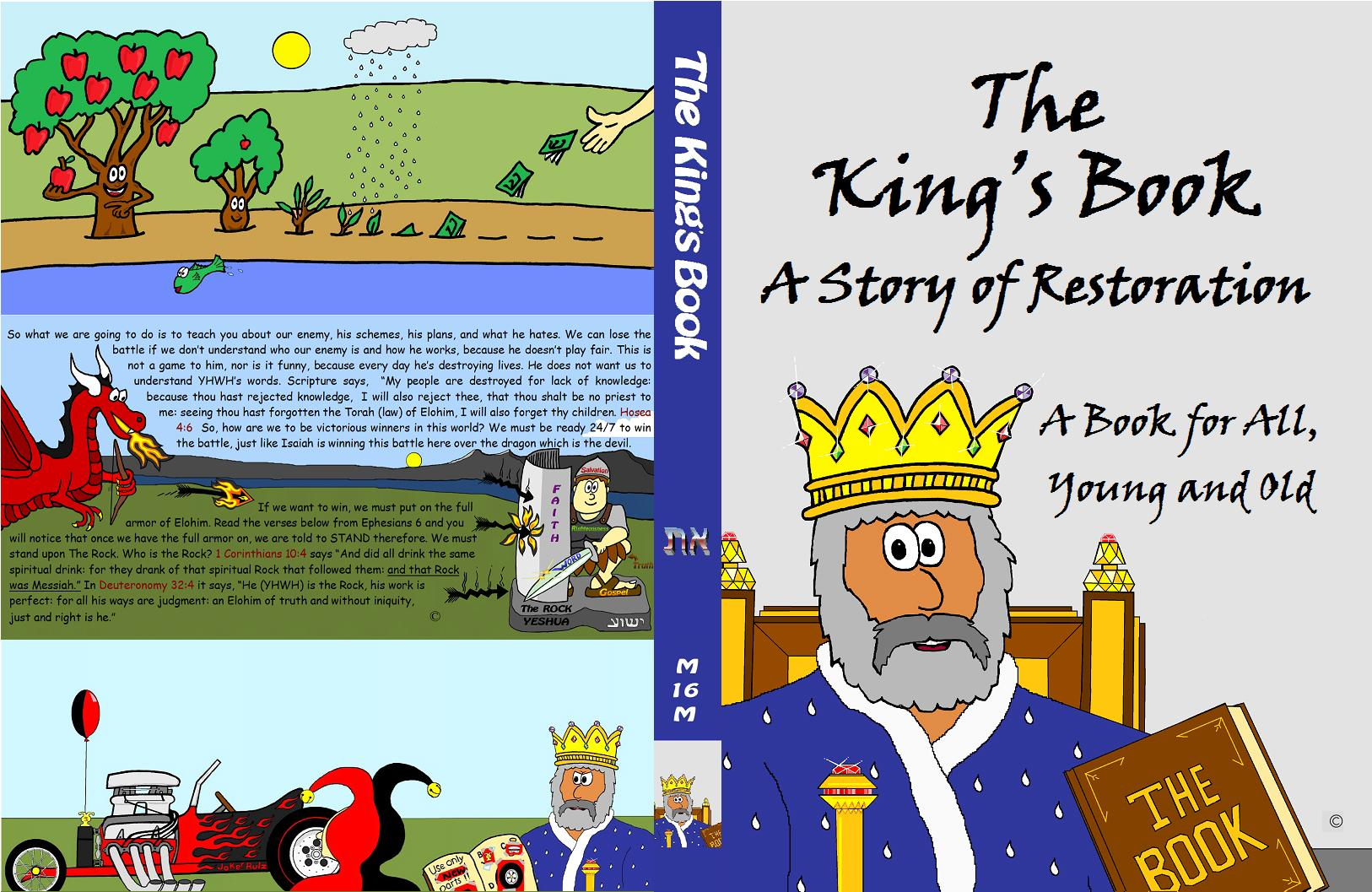 The King's Book Cover