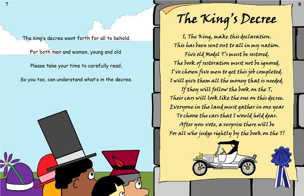 The King's Book Pages 7&8